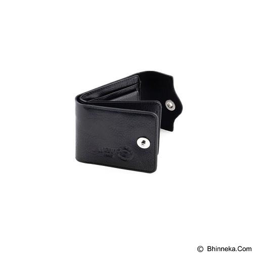 WOBU Short Wallet - Black (Merchant) - Dompet Pria