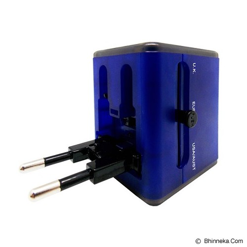 WON Travel Adapter Charger [T268] - Biru - Universal Charger Kit