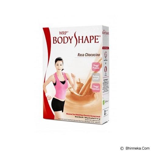 WRP Body Shape Energetic Chococino - Susu Bubuk & Kemasan
