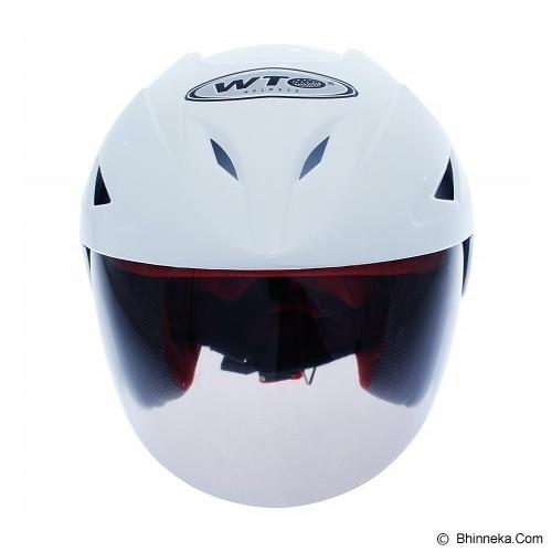 WTO Helm Anak American Warrior All Size - Putih - Helm Motor Half Face