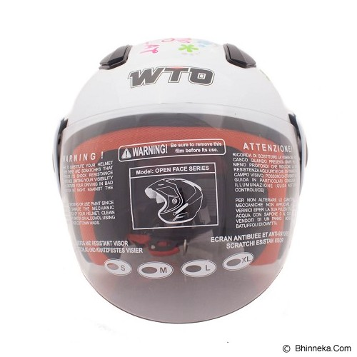 WTO Helm Anak Charmmy Size M - Puith - Helm Motor Half Face