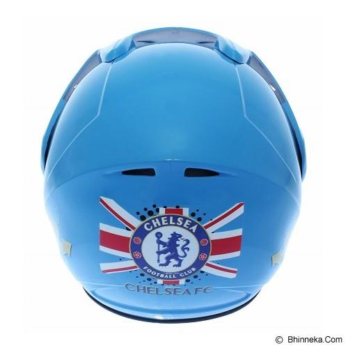 WTO Helm Anak Chelsea All Size - Biru - Helm Motor Half Face