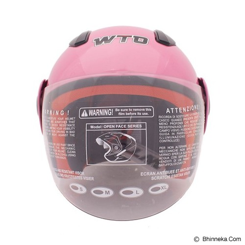 WTO Helm Anak Frozzy Size M - Pink - Helm Motor Half Face