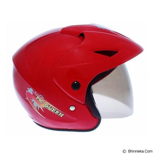 WTO Helm Anak Mc Queen All Size - Merah - Helm Motor Half Face