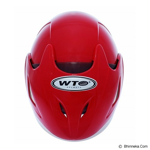 WTO Helm Anak Mc Queen All Size - Merah - Helm Motor Half Face