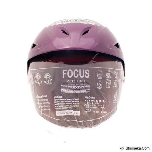 WTO Helm Anak Rapunzel All Size - Ungu - Helm Motor Half Face