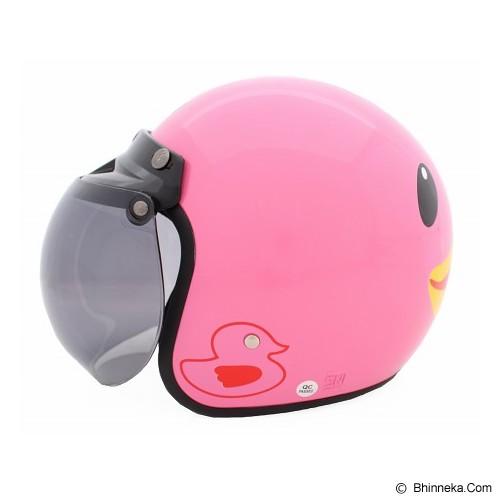 WTO Helmet Retro Duck Size XL - Pink - Helm Motor Half Face