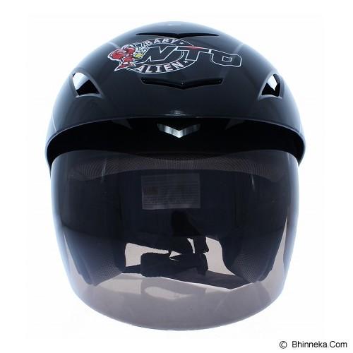 WTO Helmet X-Fast 93 Size L - Hitam - Helm Motor Half Face