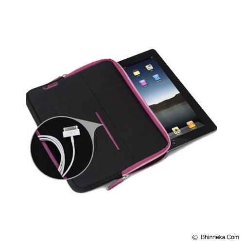 X-DORIA Sleeve Stand 402347- Black Pink - Sleeve Tablet
