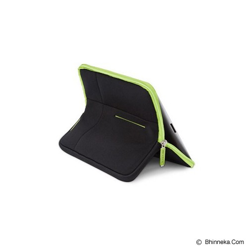 X-DORIA Sleeve Stand 402354 - Black Green - Sleeve Tablet