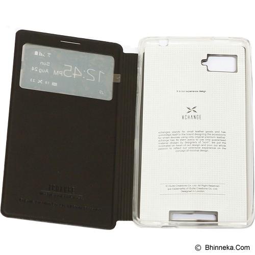 XCHANGE Case lenovo K910 - Black - Casing Handphone / Case