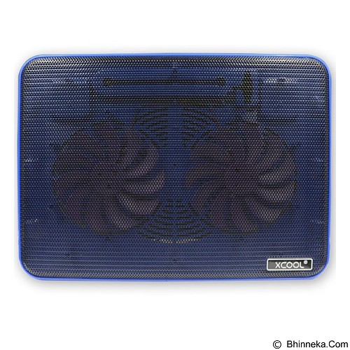 XCOOL Cooler Pad [XF2] - Blue (Merchant) - Notebook Cooler