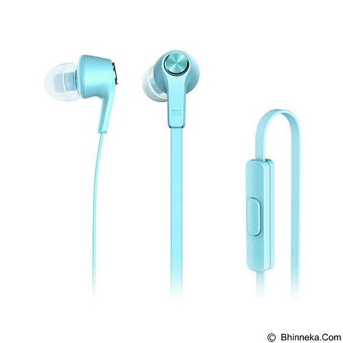 XIAOMI Earphone Piston Colorful Edition - Blue - Earphone Ear Monitor / Iem