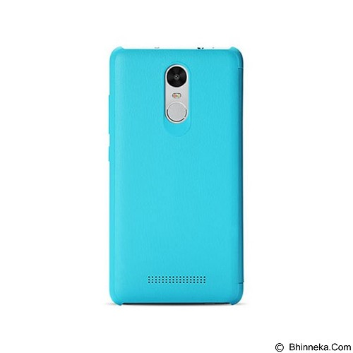 XIAOMI Flip Case Cover Redmi Note 3 - Blue - Casing Handphone / Case