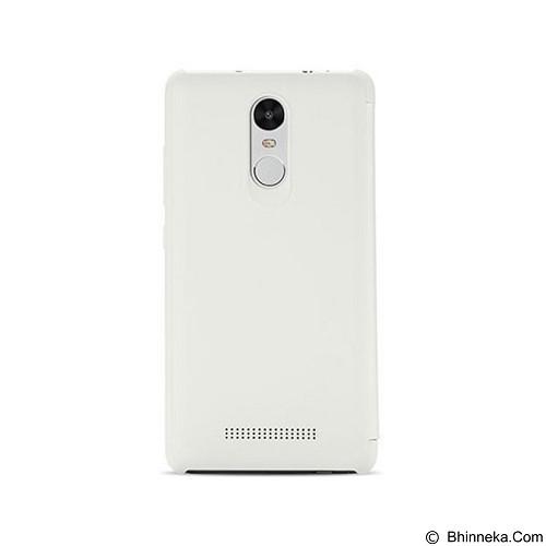 XIAOMI Flip Case Cover Redmi Note 3 - White - Casing Handphone / Case