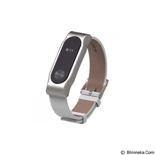 XIAOMI Mi Band 2 Strap - White (Merchant) - Casing Smartwatch / Case