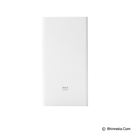 XIAOMI Mi Power Bank 20000 mAh Fast Charge - White - Portable Charger / Power Bank
