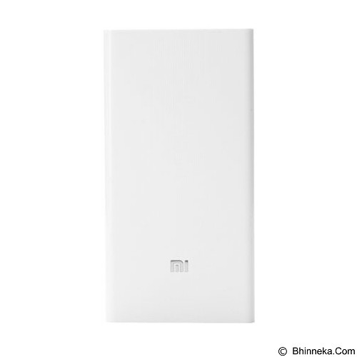 XIAOMI Mi Powerbank 20000mAh - White - Portable Charger / Power Bank