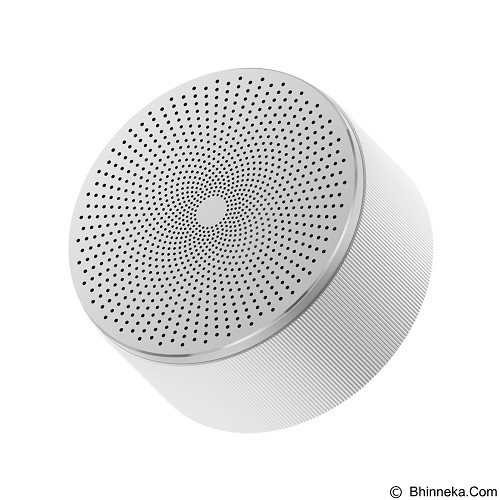 XIAOMI Mi Round Small Size Gun Bluetooth - White (Merchant) - Speaker Portable