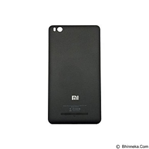 XIAOMI Mi4i Back Cover Case with Sim Tray - Black (Merchant) - Casing Handphone / Case