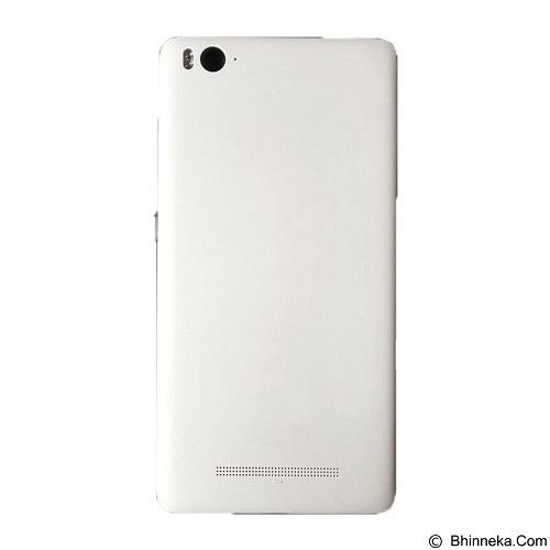 XIAOMI Mi4i Back Cover Case with Sim Tray - White (Merchant) - Casing Handphone / Case