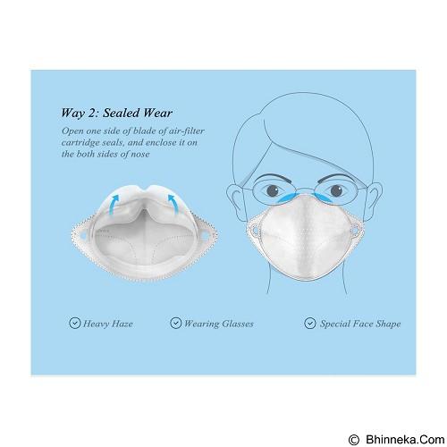 XIAOMI Mijia Air Wear Anti-haze Face Mask - Grey (Merchant) - Masker Kesehatan
