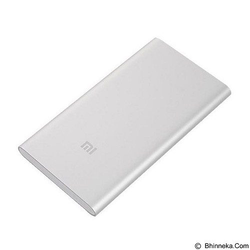 XIAOMI Power Bank 5000mAh - Silver - Portable Charger / Power Bank