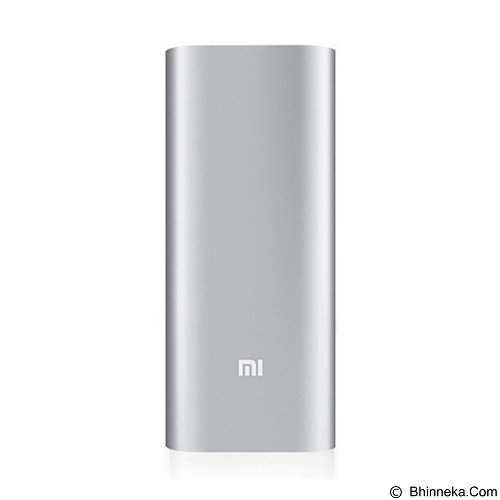XIAOMI Powerbank 16000mAh - Silver (Merchant) - Portable Charger / Power Bank