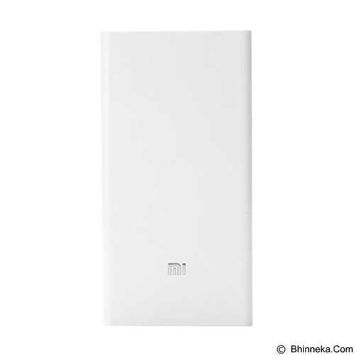 XIAOMI Powerbank 20000mAh - White (Merchant) - Portable Charger / Power Bank