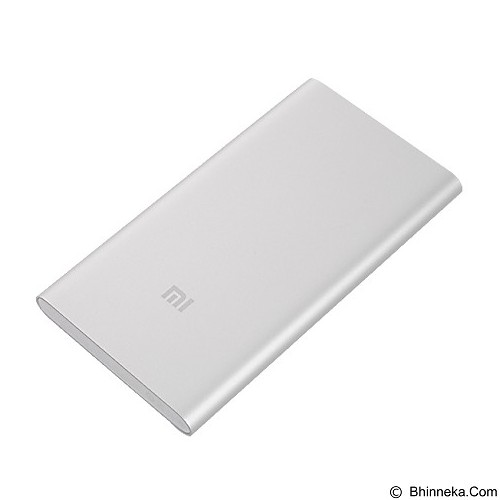 XIAOMI Mi Powerbank 5000mAh - Silver - Portable Charger / Power Bank