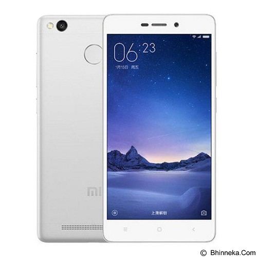 XIAOMI Redmi 3x - Silver (Merchant) - Smart Phone Android