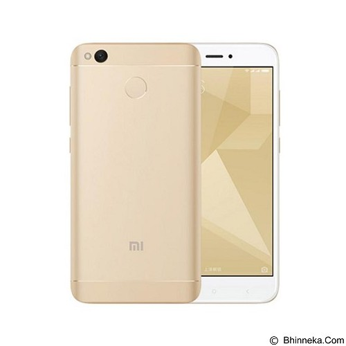 XIAOMI Redmi 4X (16GB/2GB RAM) - Gold (Merchant) - Smart Phone Android