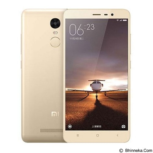 XIAOMI Redmi Note 3 3G - Gold - Smart Phone Android