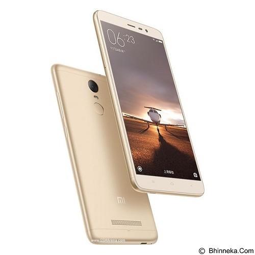 XIAOMI Redmi Note 3 Pro (16GB/2GB RAM) - Gold (Merchant) - Smart Phone Android
