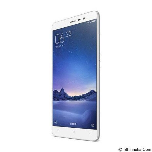 XIAOMI Redmi Note 3 Pro (32GB/3GB RAM) - Silver (Merchant) - Smart Phone Android