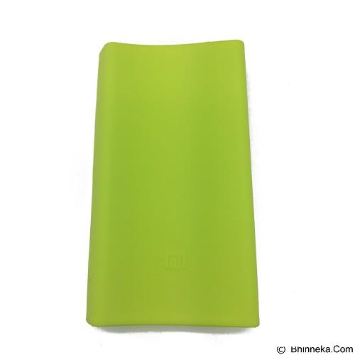 XIAOMI Silicone Powerbank 20000mAh - Green (Merchant) - Casing Handphone / Case