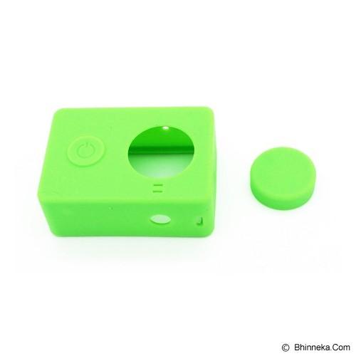 XIAOMI Silicone Softcase Xiaomi Yi Camera - Green (Merchant) - Camcorder Lens Cap and Housing Protection