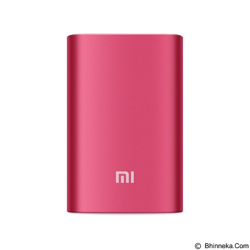 XIAOMI Slim Power Bank 10000mAh - Red - Portable Charger / Power Bank