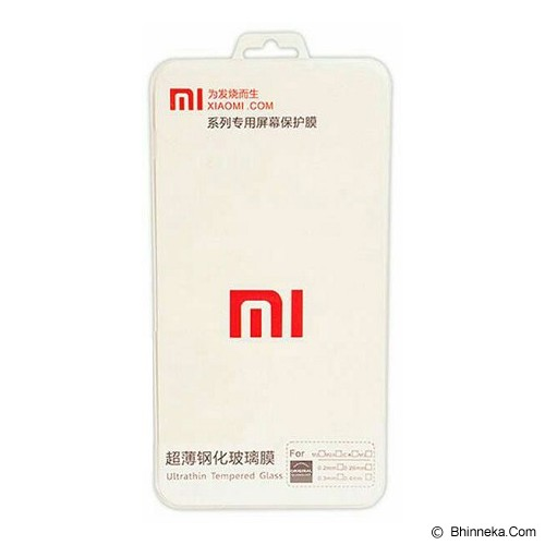 XIAOMI Tempered Glass for Redmi Note - Screen Protector Handphone