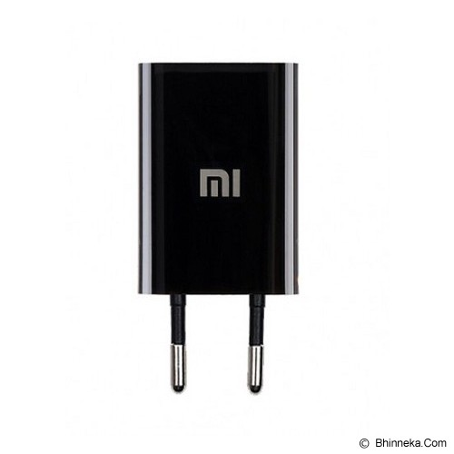 XIAOMI USB Charger 1A - Black (Merchant) - Charger Handphone
