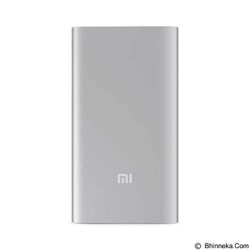 XIAOMI Ultra Slim Power Bank 5000mAh - Silver (Merchant) - Portable Charger / Power Bank