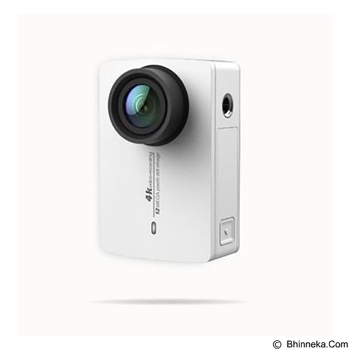 XIAOMI Yi Action Camera II 4K - White (Merchant) - Camcorder / Handycam Flash Memory