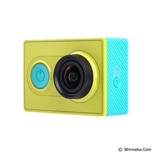 XIAOMI Yi Action Camera International Edition Combo Package - Green (Merchant) - Camcorder / Handycam Flash Memory
