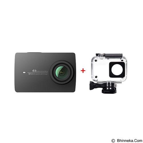XIAOMI Yi Camera 4K International Edition + Waterproof Case (Merchant) - Camcorder / Handycam Flash Memory