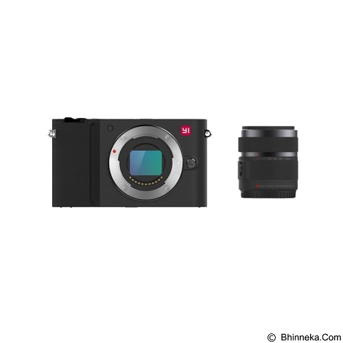 XIAOMI Yi M1 Mirrorless Digital Camera Kit - Black (Merchant) - Camera Mirrorless