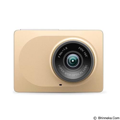 XIAOMI Yi Smart Dash Camera Car DVR - Gold (Merchant) - Kamera Mobil