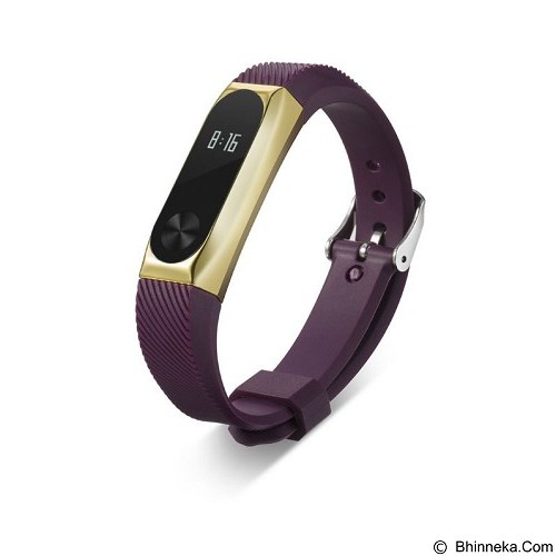 XINYUAN Replacement Band / Strap for Xiaomi Mi Band 2 OLED - Gold/Purple (Merchant) - Casing Smartwatch / Case