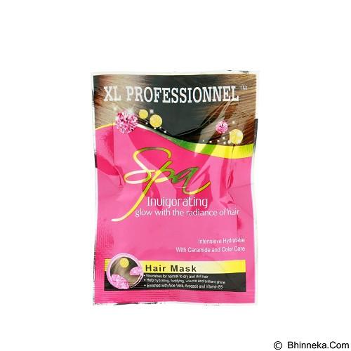 XL PROFESSIONNEL Hair Mask Invigorating 50gr Sachet (Merchant) - Creambath / Masker Rambut