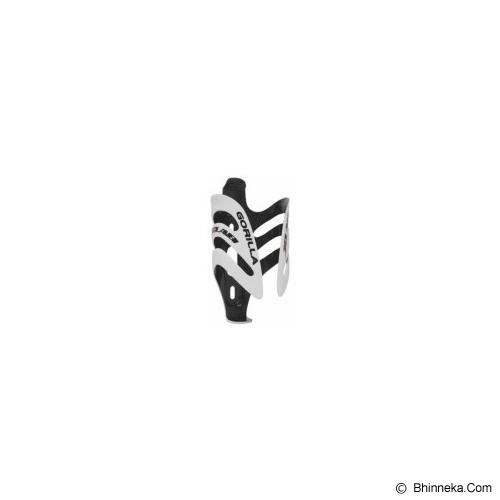 XLAB Bottle Cage Gorilla Carbon - Putih - Gantungan Sepeda / Bracket
