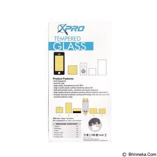 XPRO Tempered Glass Samsung Galaxy Alpha G850 - Clear (Merchant) - Screen Protector Handphone